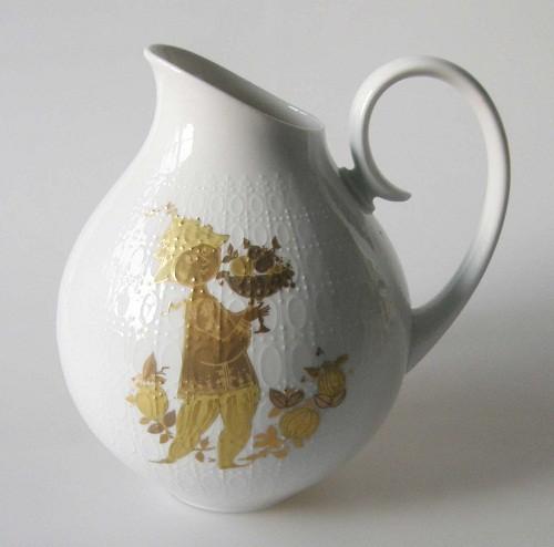 Rosenthal Romanze Golddekor Krug/Vase
