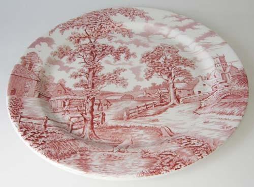 England Maddock Royal rot Speiseteller 25,5 cm