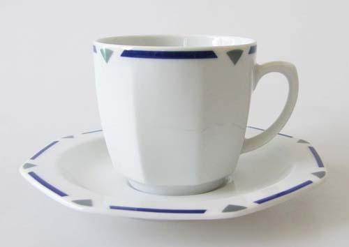 Seltmann Weiden Octa Kaffeetasse mit Untertasse