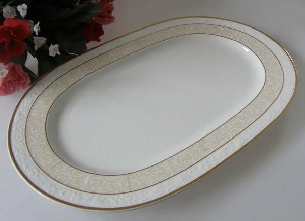 Villeroy & Boch Ivoire Platte oval 35 x 24 cm