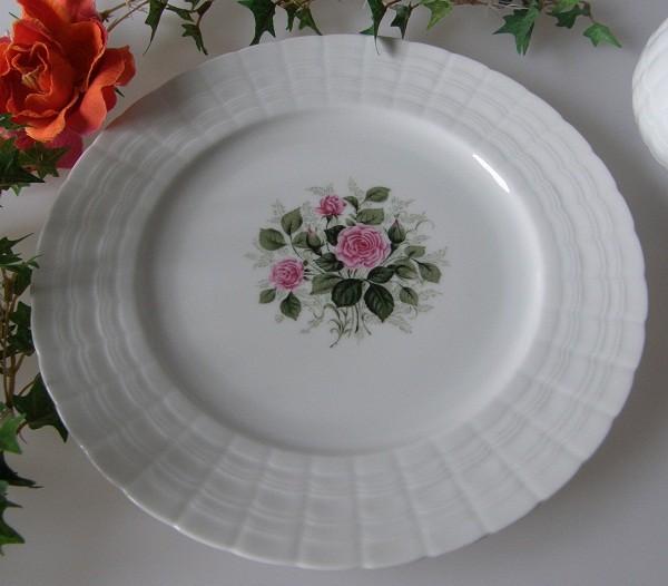Hutschenreuther Poesie Rosendekor Frühstücksteller 20 cm