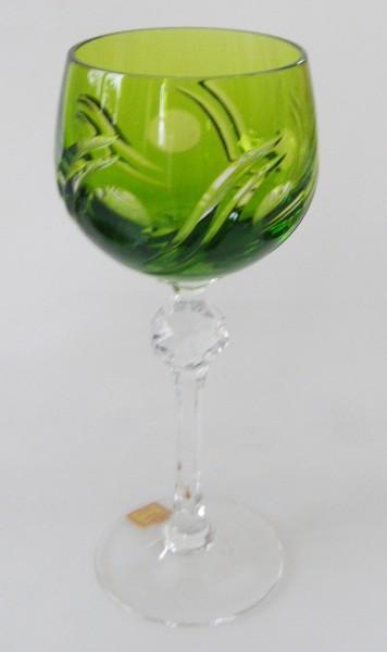 Römer Katharinen Hütte Glas Weinrömer Bleikristall grün