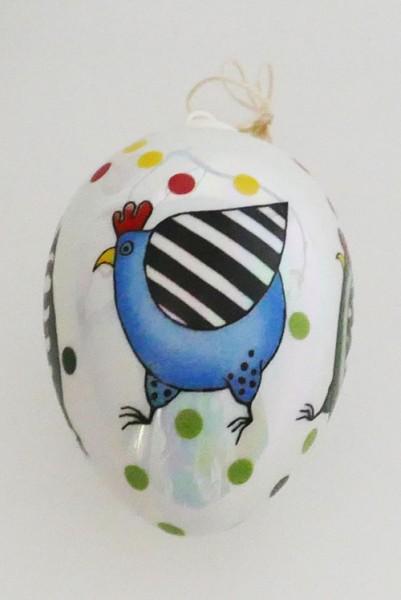 Villeroy & Boch Porzellan Ei Perlmutt Huhn Höhe 8 cm