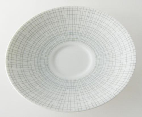Arzberg Bastdekor Form 2025 grau-grün Filigran Untertasse 15 cm
