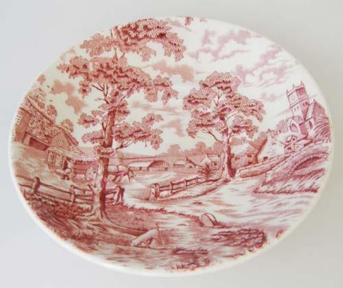 England Maddock rot Untertasse 14,4 cm