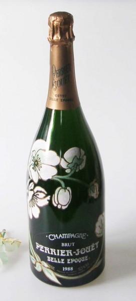 Perrier-Jouët BELLE EPOQUE Champagnerflasche 1500 ml zur Dekoration, ohne Inhalt, orginal verkorkt