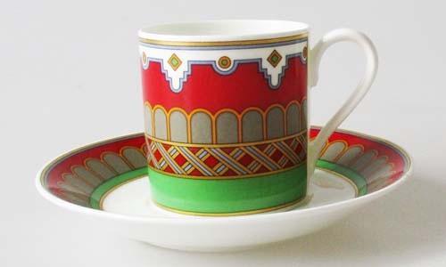 Mokka-/Espressotasse mit Untertasse Villeroy & Boch Scaramouche