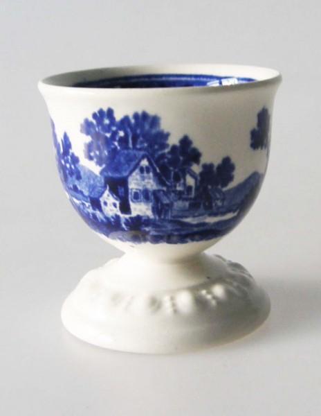 Villeroy & Boch Rusticana blau Eierbecher Höhe 5 cm