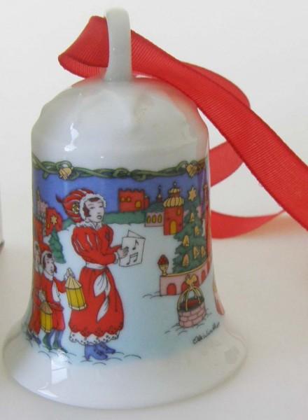 Hutschenreuther Porzellan Weihnachtsglocke In der Burg 1996