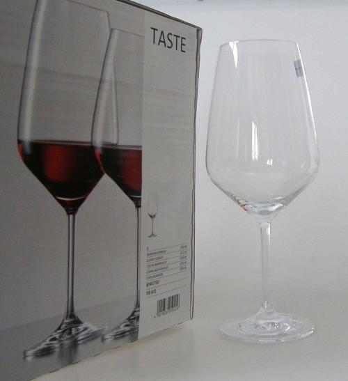 Schott & Zwiesel Taste Rotwein Bordeauxpokal 656 ml Kristallglas
