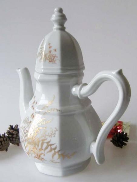 Gallo G.de Porcelaine Leonardo Fougere Goldfarn Mokkakanne 0,80 l