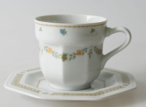 Gallo Leonardo Das Blumenkörbchen Espressotasse mit Untertasse