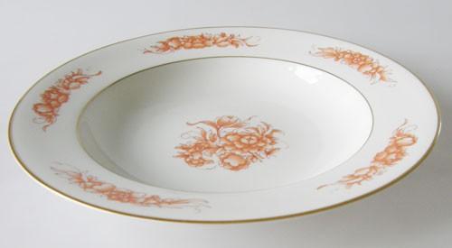 Rosenthal Aida Fleur Rouge Suppenteller 23,5 cm