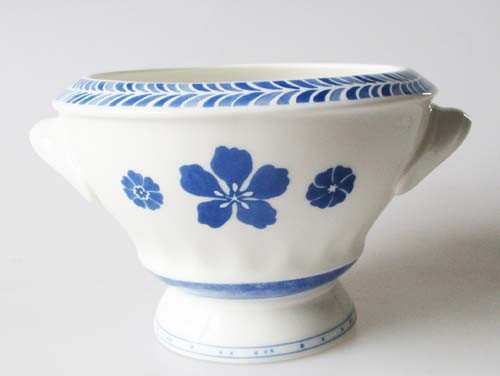 Villeroy & Boch Farmhouse Touch Blueflowers Relief Suppenbol 0,60 l