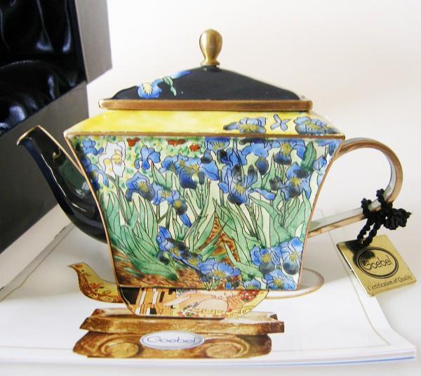 Goebel Mini Teekanne Van Gogh Iris 8,5 cm