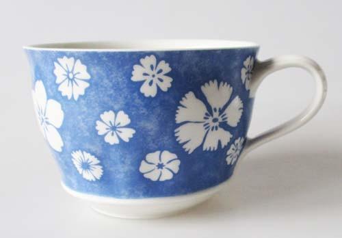 Villeroy & Boch Farmhouse Touch Blueflowers Frühst.Obertasse 0,40 l