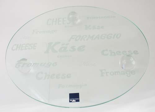 Leonardo Käseplatte auf Kugelfüßen rund Ø 33 cm