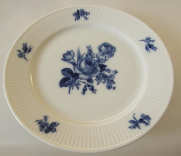 Heinrich Residenz Höchst Blaue Rose Frühstücksteller 20 cm