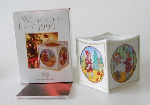 Hutschenreuther Porzellan Weihnachtsslicht Rotkäppchen 1999