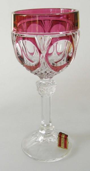 Katharinen-Hütte Römer Weinglas Rot 19 cm