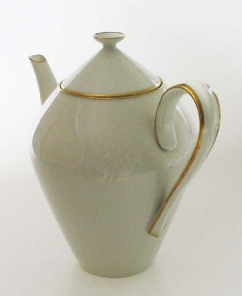 Heinrich Grazie mit Goldrand Kaffeekanne für 6Pers. 1,50 l