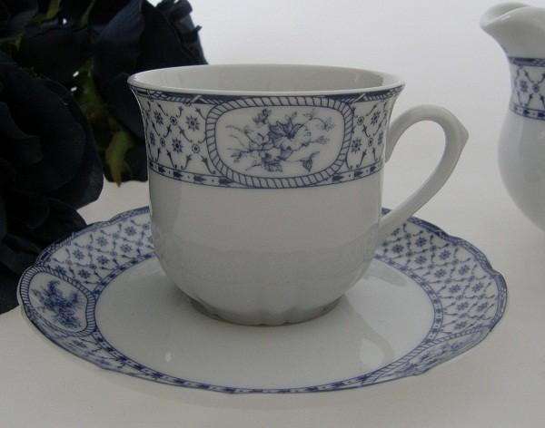Thun Carlsbad blaues Landhausdekor Kaffeetasse 2-tlg.