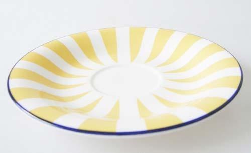 Rörstrand Plus gelb Untertasse 16,3 cm