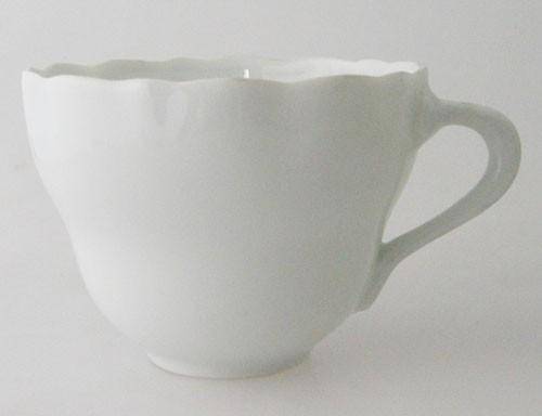 Hutschenreuther Maria Theresia weiß Kaffeetasse