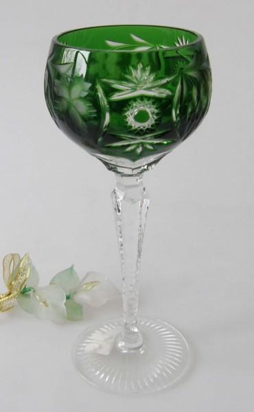 Nachtmann Römer Traube Überfang Römer groß Smaragdgrün 20,7 cm Weinglas Neu