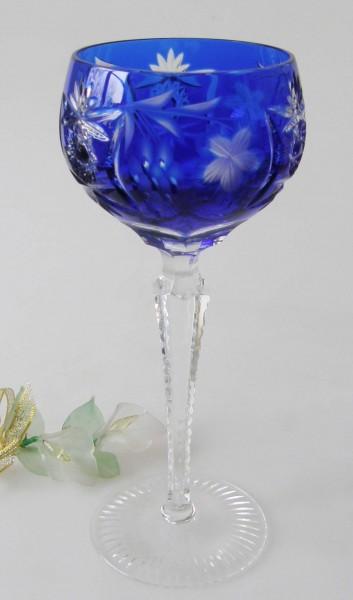 Nachtmann Römer Traube Überfang Römer groß Kobaltblau 20,7 cm Weinglas