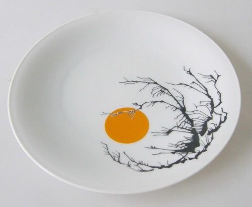 Heinrich Anmut Frühstücksteller 19,5 cm Dekor asiatisch