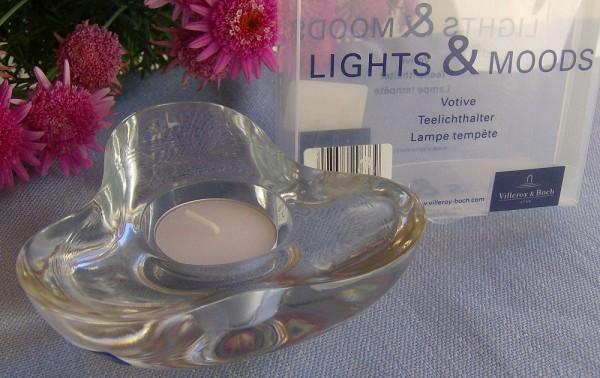 Villeroy & Boch Lights & Moods Glas Teelichthalter