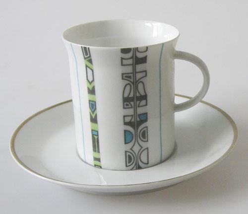 Rosenthal Berlin Grunewald Kaffeetasse mit Untertasse