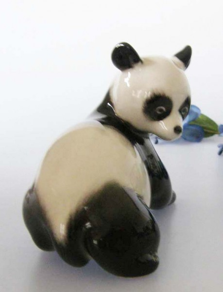 Lomonosov Panda Bär 8,5x10,5 cm