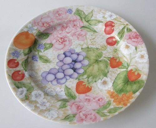 Seltmann Weiden IL Giardino, Le Panier Fleuri Frühstücksteller 20 cm