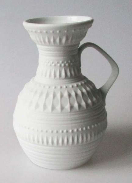Royal Porzellan KPM Vase weiss Höhe 16,5 cm Handarbeit