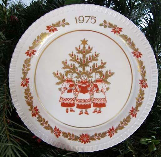 Spode Weihnachts / Sammelteller 1975 Nr. 6