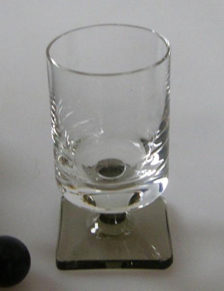 Rosenthal Berlin Rauchfuß Schnapsglas 6,5 cm
