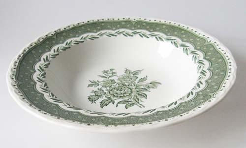 England Stratford Grindley grün Suppenteller 22,5 cm