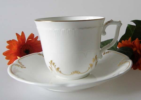 Villeroy & Boch Heinrich Montclair Gold Kaffeetasse 2 tlg.