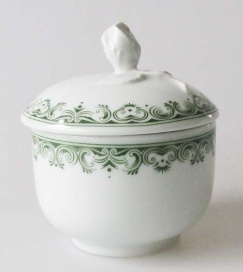 Hutschenreuther Maria Theresia Prater grün Zuckerdose 0,20 l