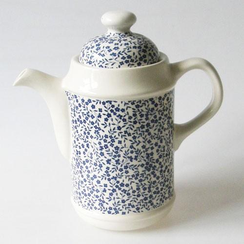 England Royal Tudor Daybreak blau Kaffeekanne 1,2 l