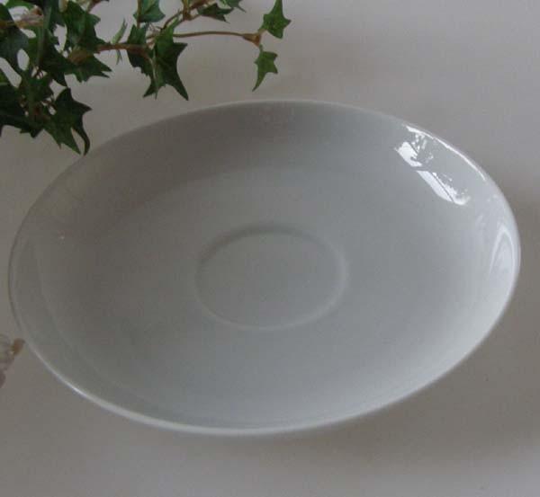 Rosenthal Lotus weiss Kaffee - Untertasse 13,8 cm