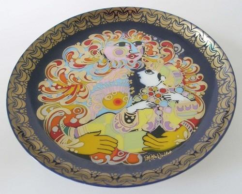 Rosenthal Aladin und die Wunderlampe 16,5 cm Sammel-Teller Nr.5