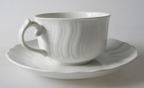 Villeroy & Boch Diamant Teetasse mit Untertasse