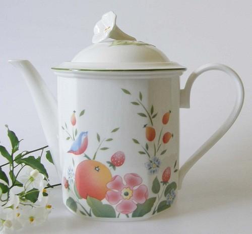 Villeroy & Boch Orangerie Kaffeekanne für 6 Pers. 1,40 l