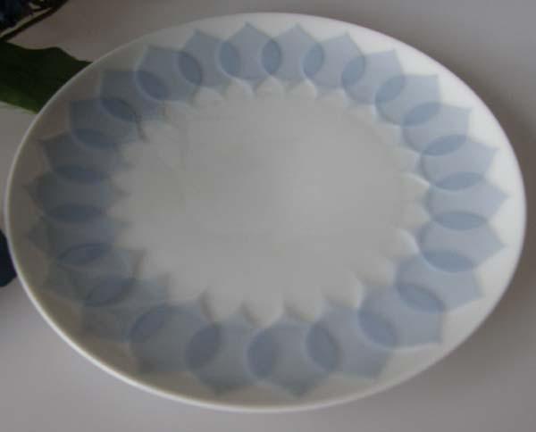 Rosenthal Lotus blau Frühstücksteller 19 cm