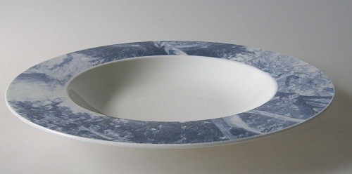 Villeroy & Boch Blue Meadow Mood Suppenteller 24,5 cm