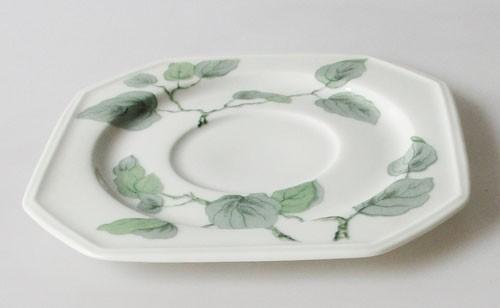 Gallo Galerie de Porcelane Lombardia Apricot Untertasse 14,5 cm für Kaffee