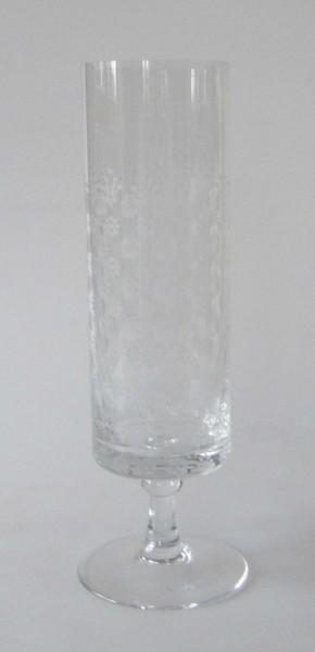 Rosenthal Romanze Kelchglas Relief Vase, hoch 22,5 cm